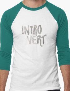 Introvert - Just A Word Men's Baseball ¾ T-Shirt