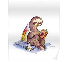 Cozy Sloth Poster