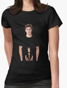 A Familiar Face Womens Fitted T-Shirt