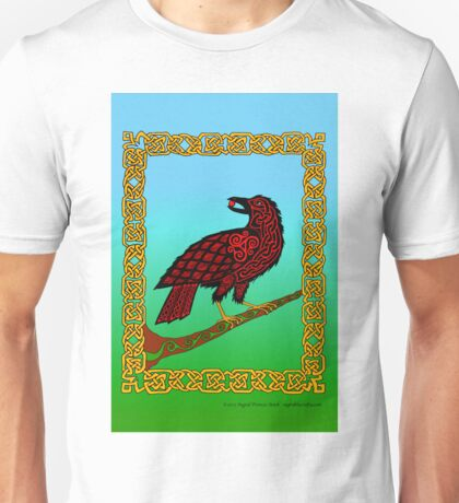 Celtic Raven Unisex T-Shirt