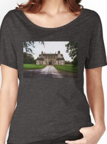 Leith Hall Facade - (Huntly, Aberdeenshire, Scotland) Women's Relaxed Fit T-Shirt