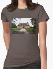 Leith Hall Facade - (Huntly, Aberdeenshire, Scotland) Womens Fitted T-Shirt