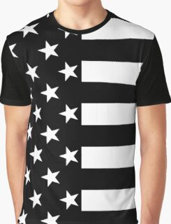 Stars and Stripes Classic Graphic T-Shirt