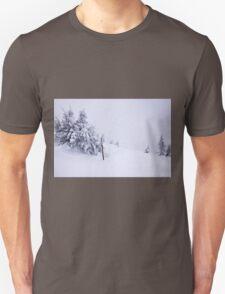 In snow Unisex T-Shirt