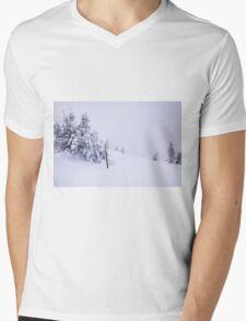 In snow Mens V-Neck T-Shirt