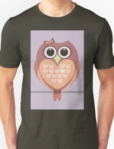 OWL WITH HEARTs T-Shirt