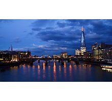 Towering Shard Photographic Print