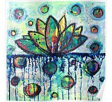 Float on Joy: Inner Power Painting Poster