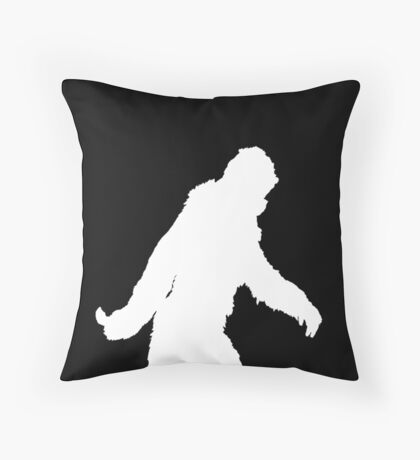 Gone Squatchin Fast Throw Pillow