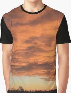 Burning skies Graphic T-Shirt