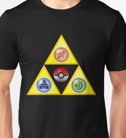 Zelda Triforce Wind Waker/ Pokemon Unisex T-Shirt
