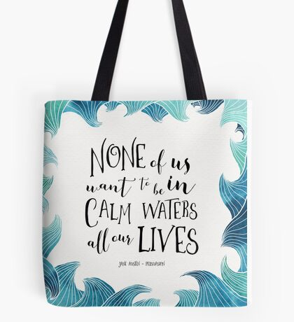 Calm Waters - Persuasion - Austen Tote Bag