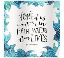 Calm Waters - Persuasion - Austen Poster