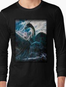Saphira The Dragon From The Hit Eragon Movie Long Sleeve T-Shirt