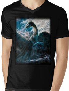 Saphira The Dragon From The Hit Eragon Movie Mens V-Neck T-Shirt