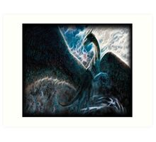 Saphira The Dragon From The Hit Eragon Movie Art Print