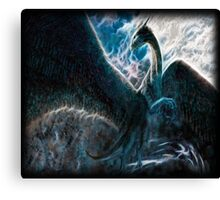 Saphira The Dragon From The Hit Eragon Movie Canvas Print