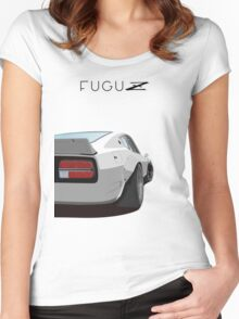 Fugu z Women's Fitted Scoop T-Shirt