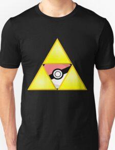 Zelda Triforce (Courage, Wisdom, Power, and Pokemon) T-Shirt