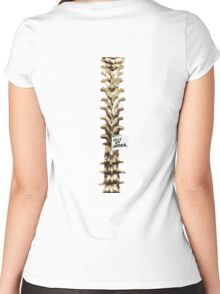 Out of Order Spine Women's Fitted Scoop T-Shirt