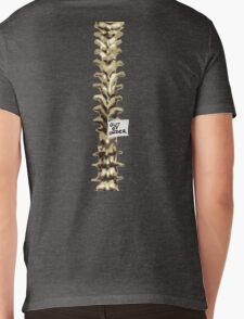 Out of Order Spine Mens V-Neck T-Shirt