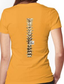 Out of Order Spine Womens Fitted T-Shirt