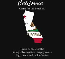 California, the not so golden state Unisex T-Shirt