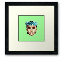 Amata AlmodoCrown Framed Print
