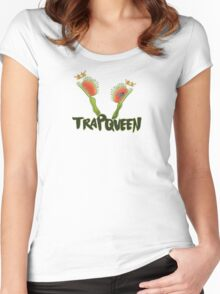 Trap Queen Women's Fitted Scoop T-Shirt