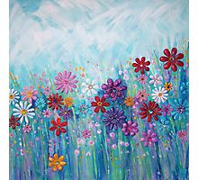 Flower Meadow Photographic Print