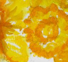Daring Daffodils Sticker