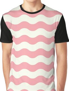 Waves retro old graphic Graphic T-Shirt