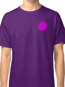 Purple Flower Ribbon Classic T-Shirt
