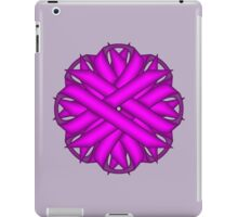 Purple Flower Ribbon iPad Case/Skin