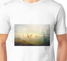 Ten People on A Beach Unisex T-Shirt
