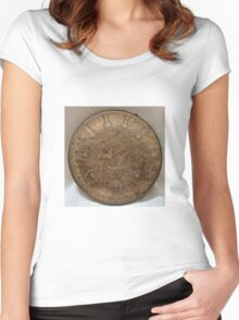 Golden Grain Women's Fitted Scoop T-Shirt