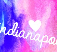 Indianapolis Sticker