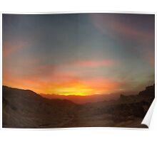 Sunset Afire Poster