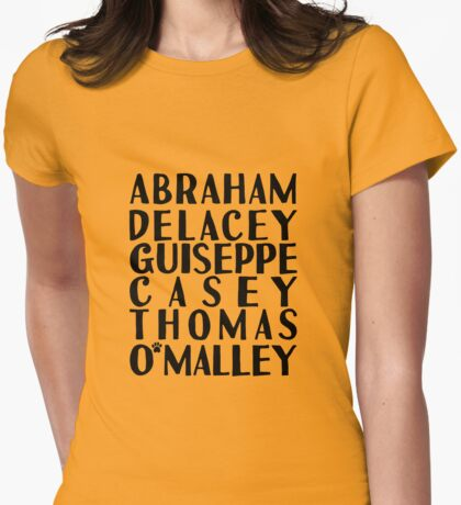 Thomas O'Malley - The Aristocats Womens Fitted T-Shirt