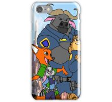 Zootopia / Zootropolis Squad Selfie iPhone Case/Skin