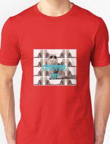 cooool cat has a nice day Unisex T-Shirt