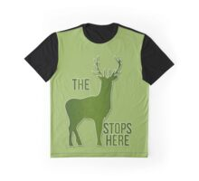 The Buck Stops Here - Cabin Collection Graphic T-Shirt