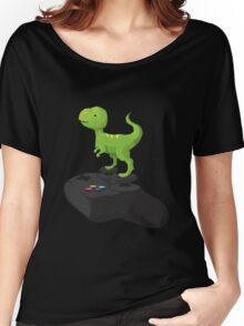 Toy T-Rex Gamer Women's Relaxed Fit T-Shirt