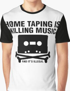 Home Taping Graphic T-Shirt