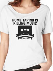 Home Taping Women's Relaxed Fit T-Shirt