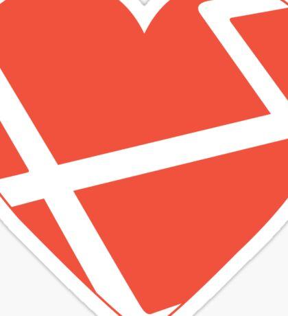 Heart Laravel Sticker