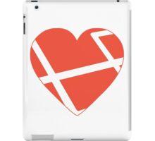 Heart Laravel iPad Case/Skin