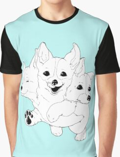 Corgerberus  Graphic T-Shirt