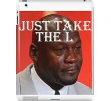"Mike ""L"" Jordan iPad Case/Skin"