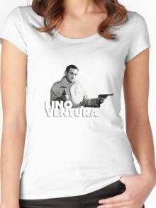 Lino Ventura - Le deuxième souffle Women's Fitted Scoop T-Shirt